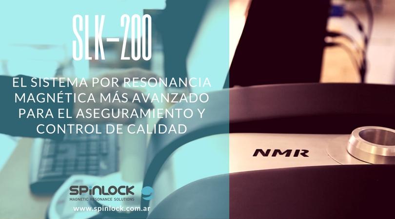 Espectrómetro NMR SLK-200